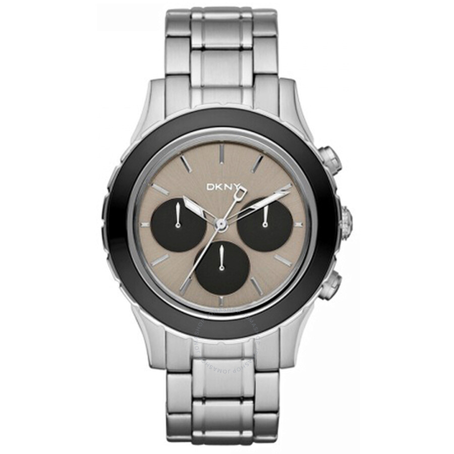 DKNY Chronograph Grey Dial Stainless Steel Mens Watch NY8659