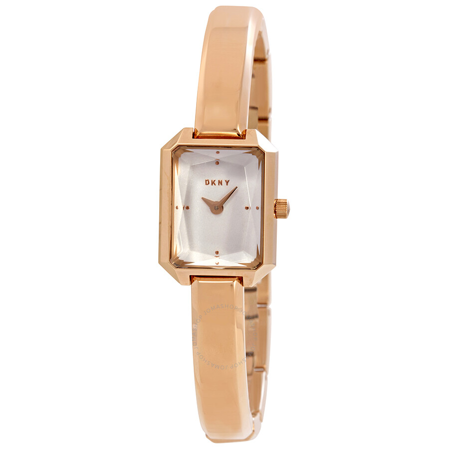 DKNY Cityspire White Dial Ladies Bangle Watch NY2649