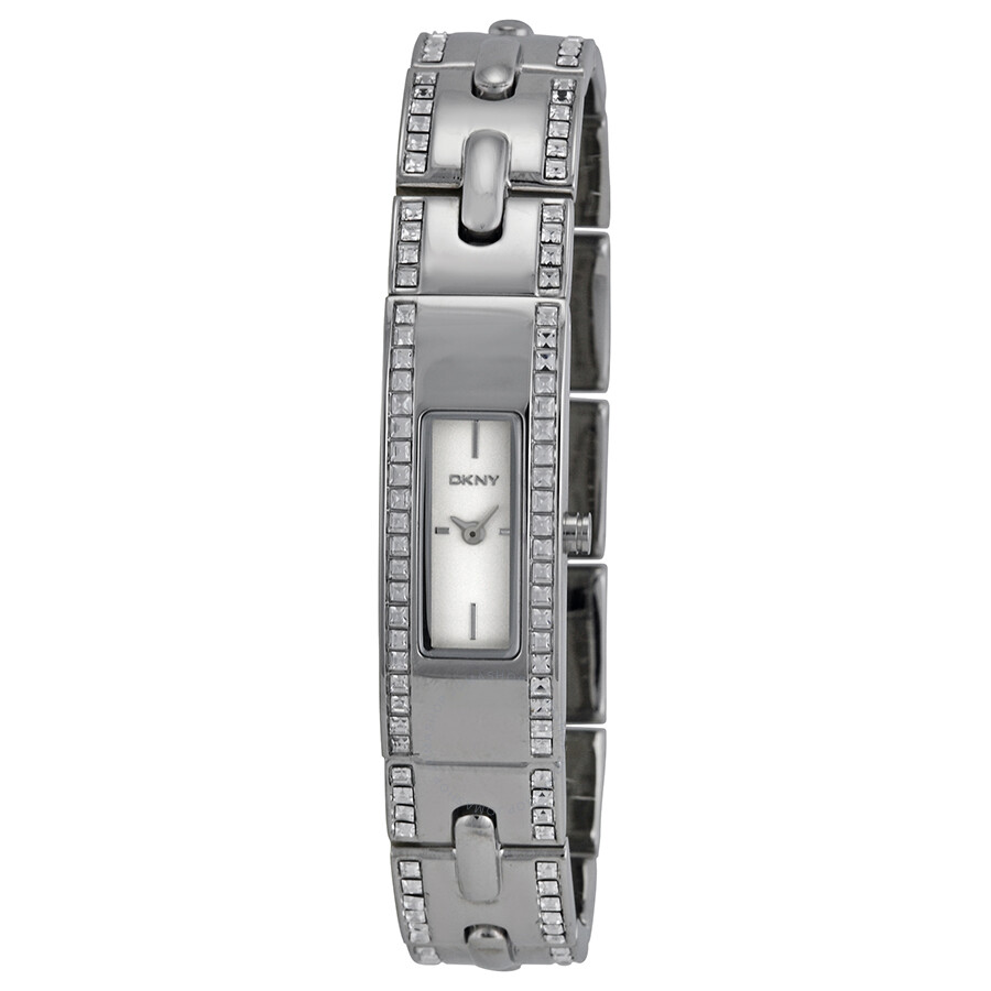 DKNY Silver Dial Stainless Steel Ladies Watch NY2175