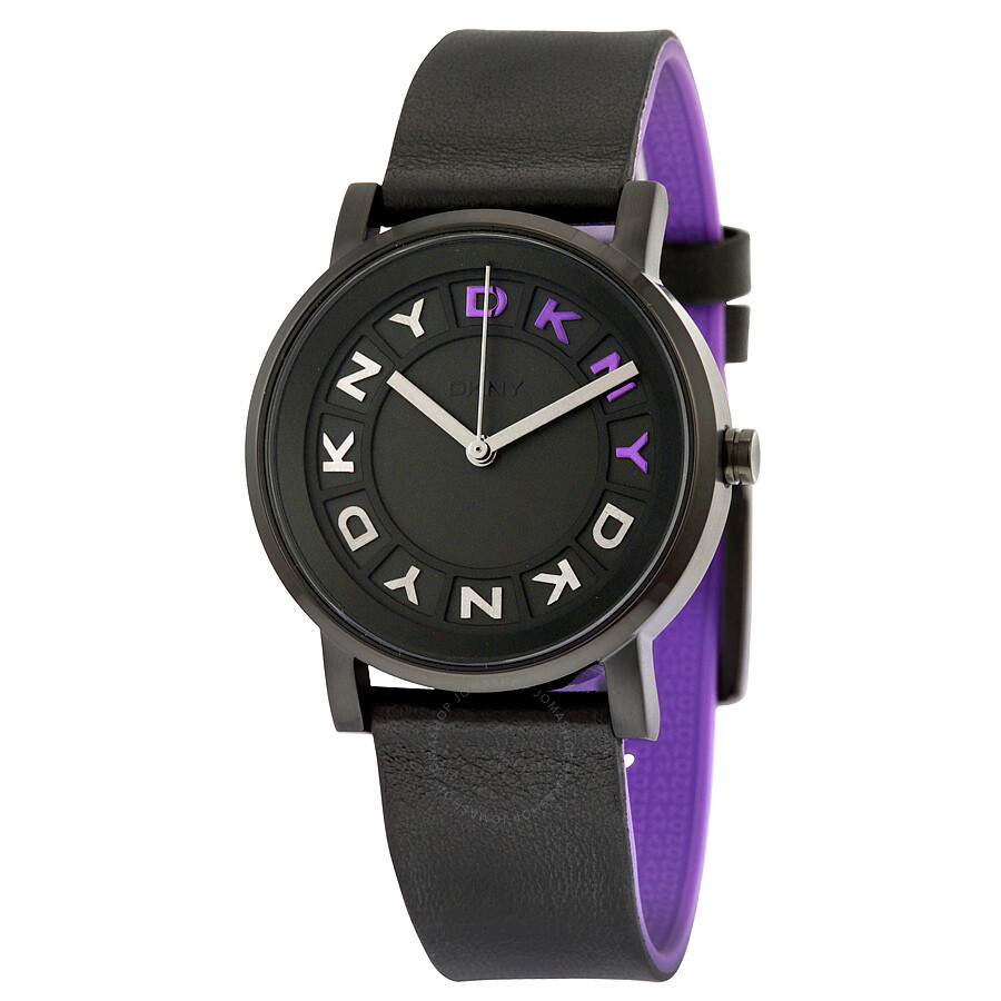 Dkny soho black dial ladies casual watch ny2389 dkny watches jomashop for Casual watches