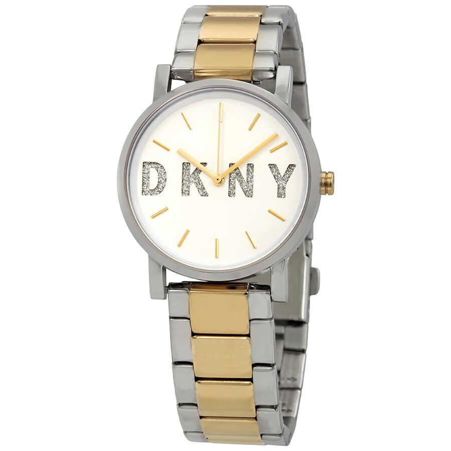 DKNY Soho White Dial Ladies Watch NY2653