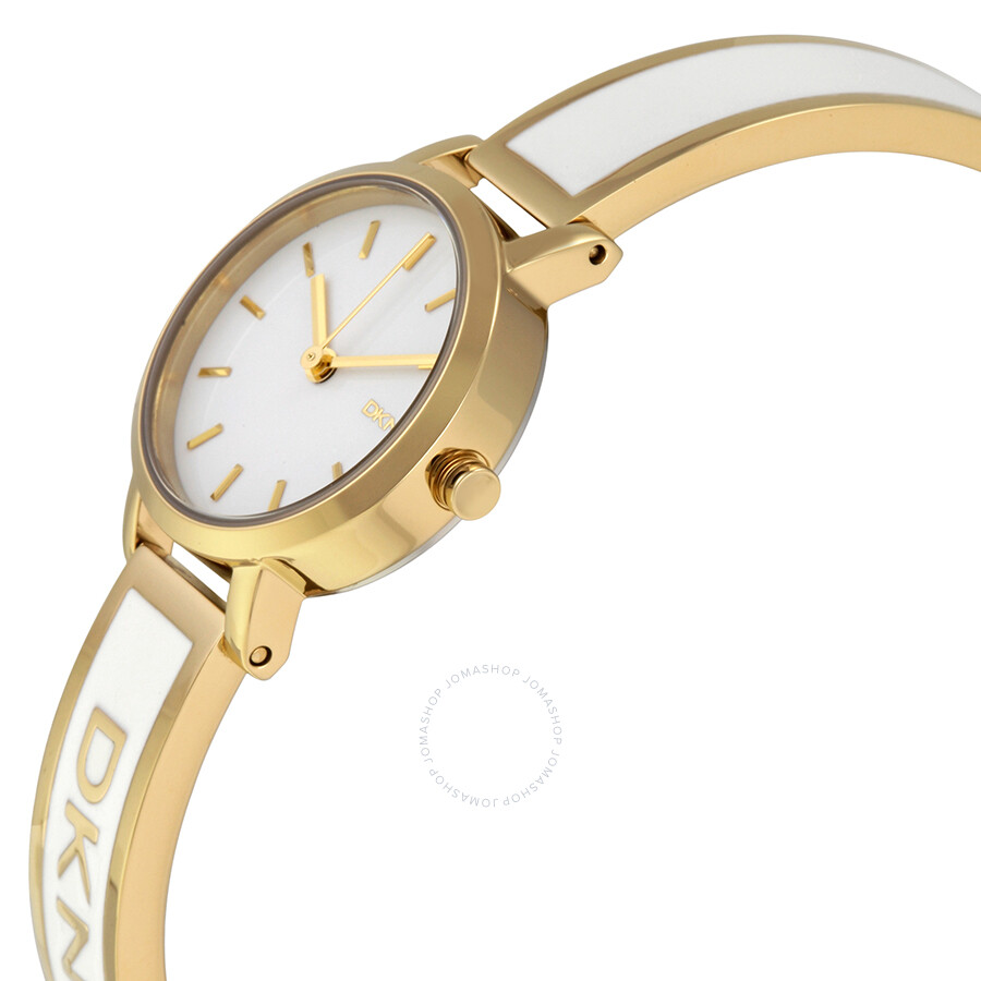 kors analog dillards bangle jaryn zi half watches watch gold goldtone p stainless tone hand michael bracelet steel three