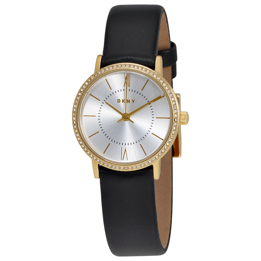 Dkny willoughby silver dial ladies watch ny2552 dkny watches jomashop for Dkny watches