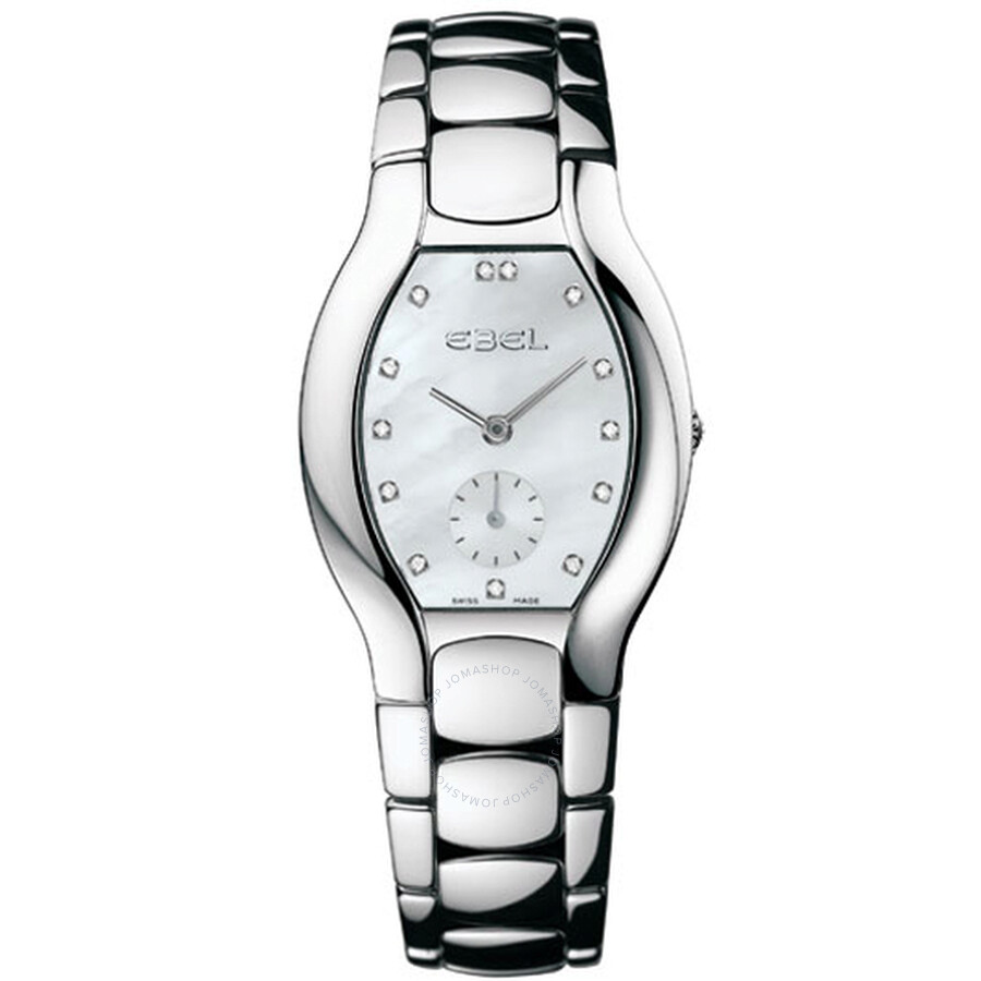 Ebel Beluga Mother Of Pearl Dial Stainless Steel Ladies Quartz Watch 9980G31-9970