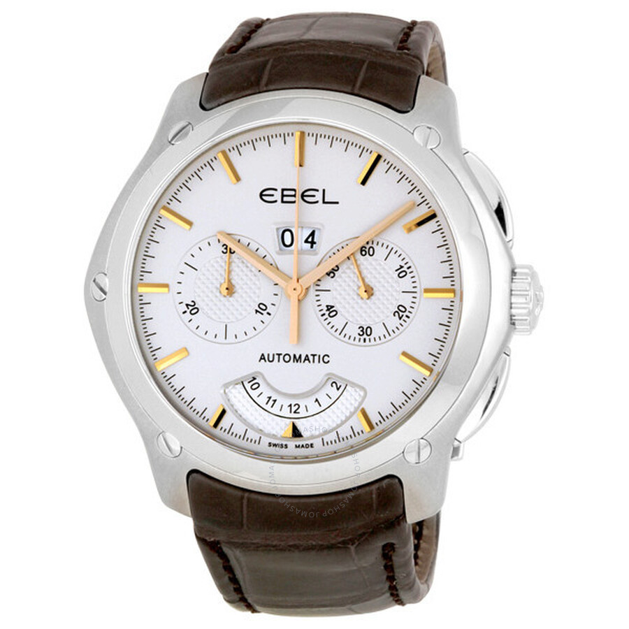 Ebel Classic Hexagon Chronograph Mens Watch 1215931