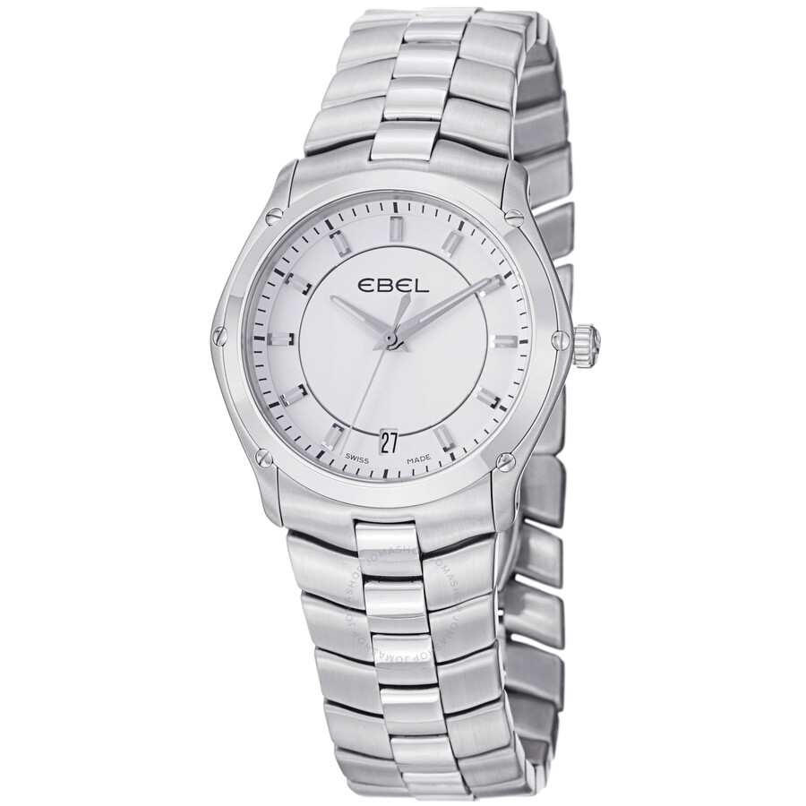 Ebel Classic Sport Silver Dial Mens Watch 1216019