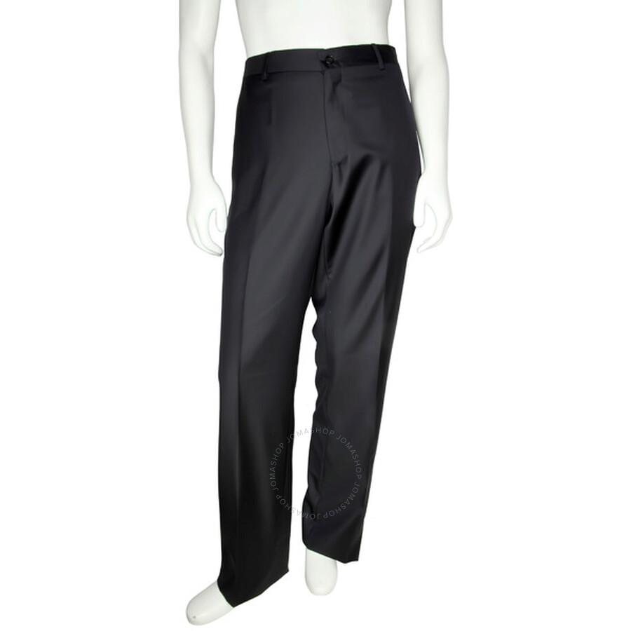 emporio armani emporio armani classic fit wool trousers size 36