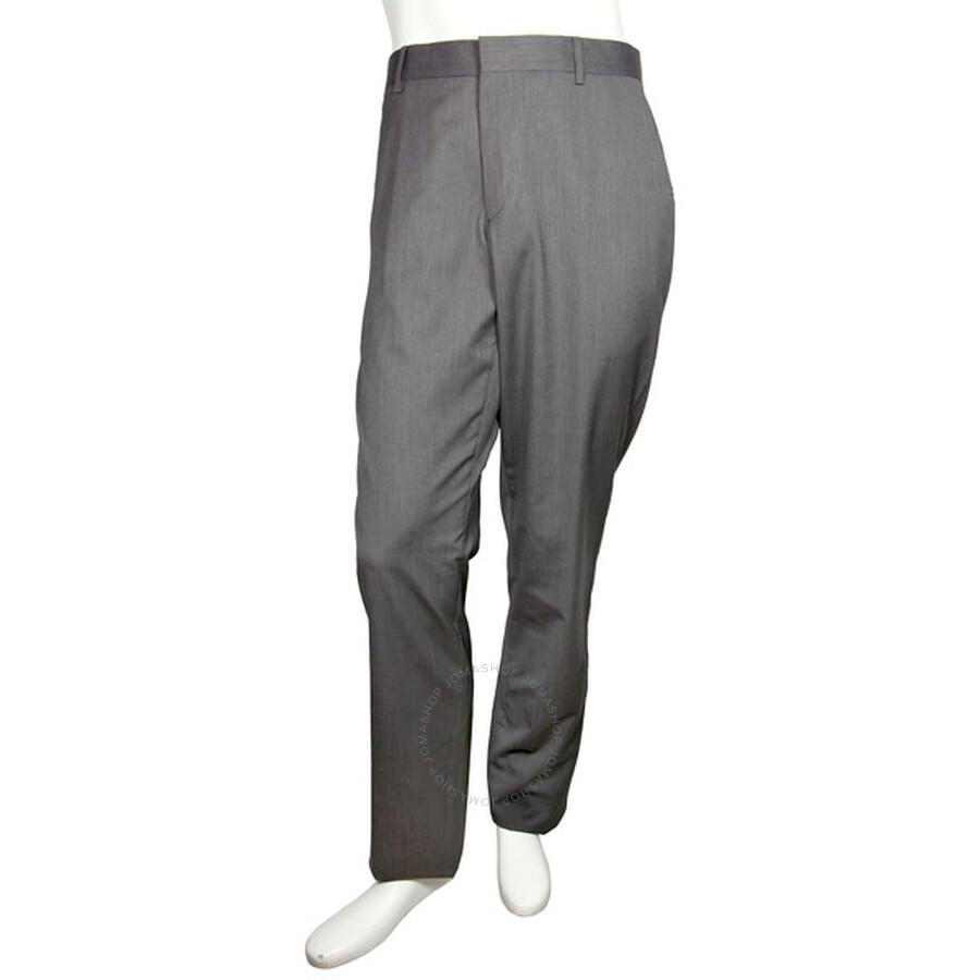 emporio armani emporio armani flat front trousers size 38
