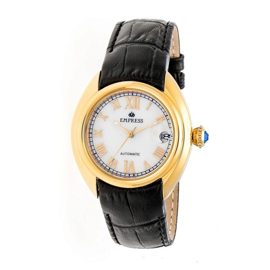 Empress Antoinette Automatic Mother of Pearl Dial Ladies Watch EM1403