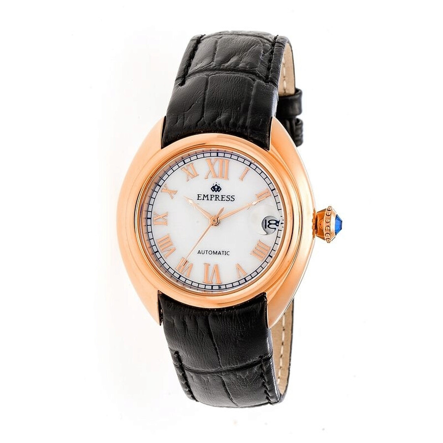 Empress Antoinette Automatic Mother of Pearl Dial Ladies Watch EM1405