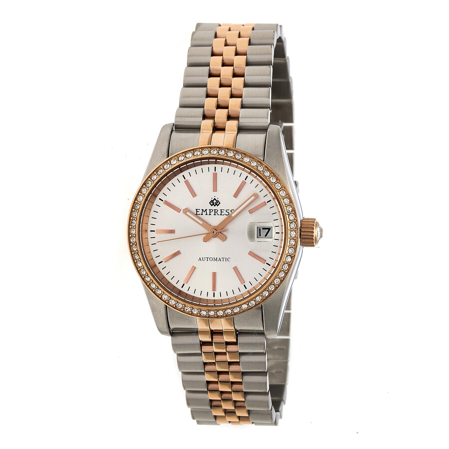 coach coachnewyorkminute from tristen watches bracelet watch pin rosegold beaut plated crystal