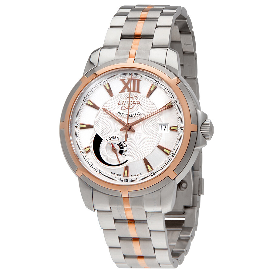 Enicar Automatic Two Tone Mens Watch 3168/50/325GCP