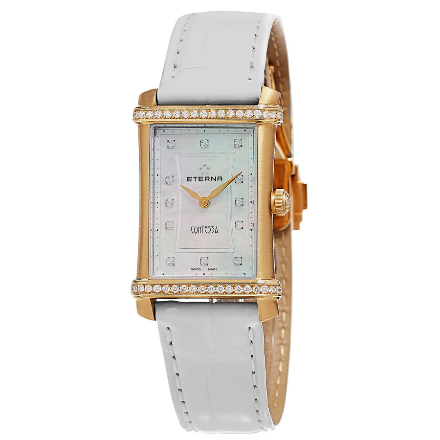 Eterna Contessa Diamond Ladies Watch 2410.77.67.1224