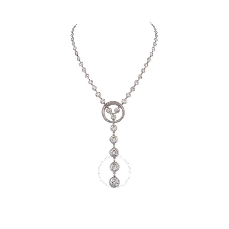 Exquisite Brilliant Diamond Necklace 17.12 ct