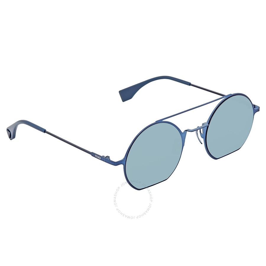 FENDI Fendi Damen Sonnenbrille » FF 0291/S«, blau, PJP/3J - blau/blau