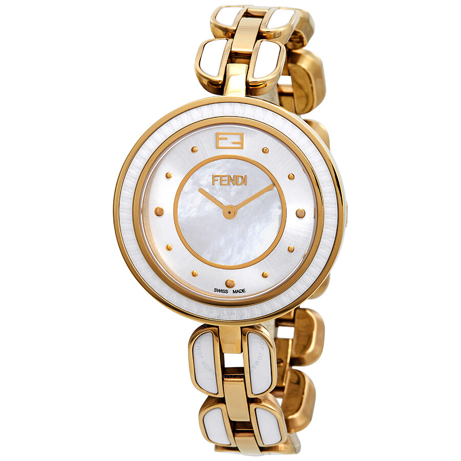 Fendi My Way Mother of Pearl Dial Ladies Watch F373434504