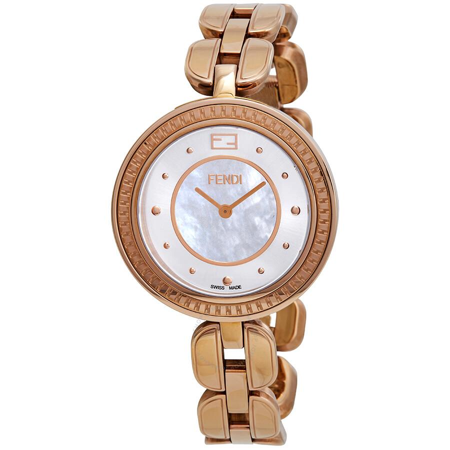 Fendi My Way Mother of Pearl Dial Ladies Watch F371534500