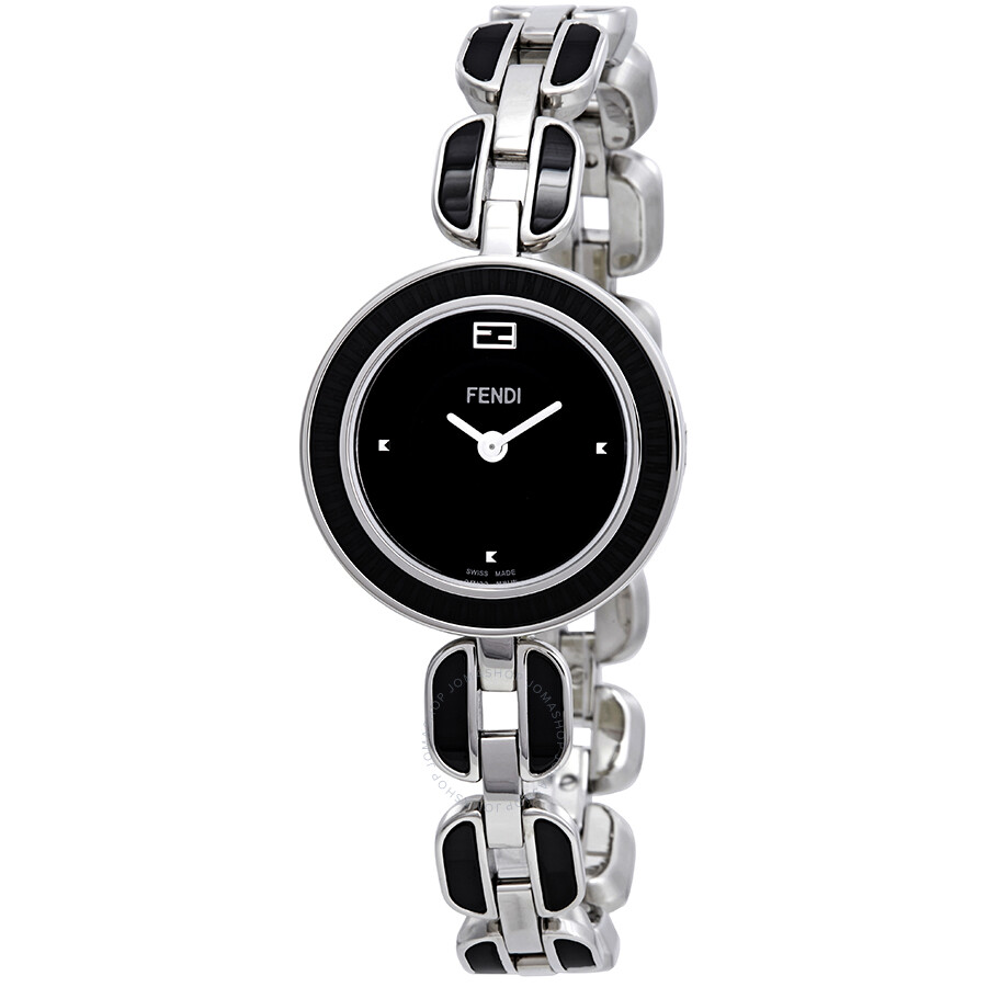 Fendi My Way Black Dial Ladies Watch F353021001