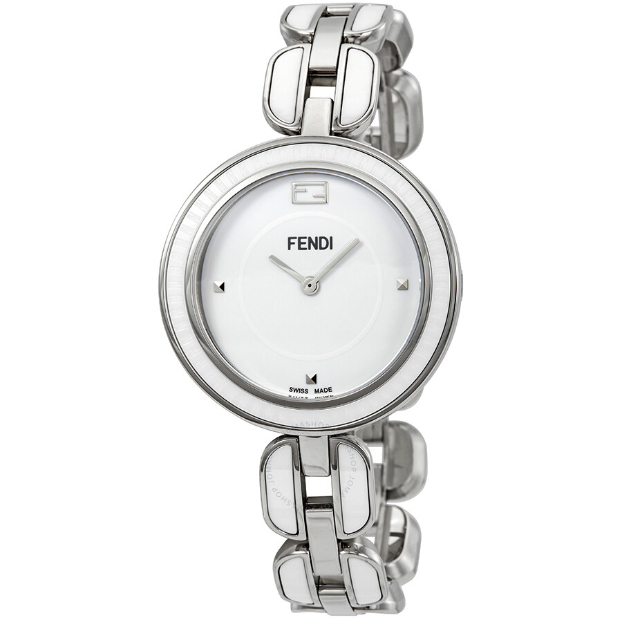 Fendi My Way White Dial Ladies Watch F359034004
