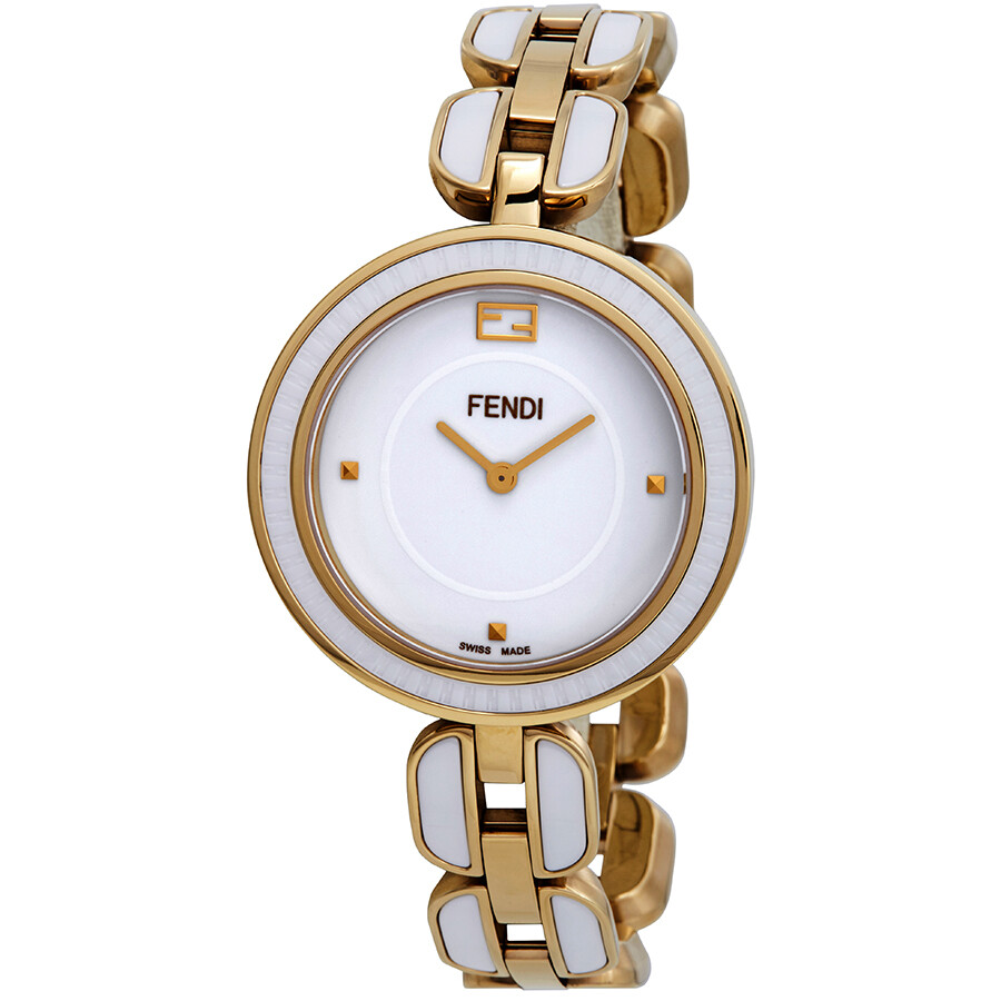 Fendi My Way White Dial Ladies Watch F359434004