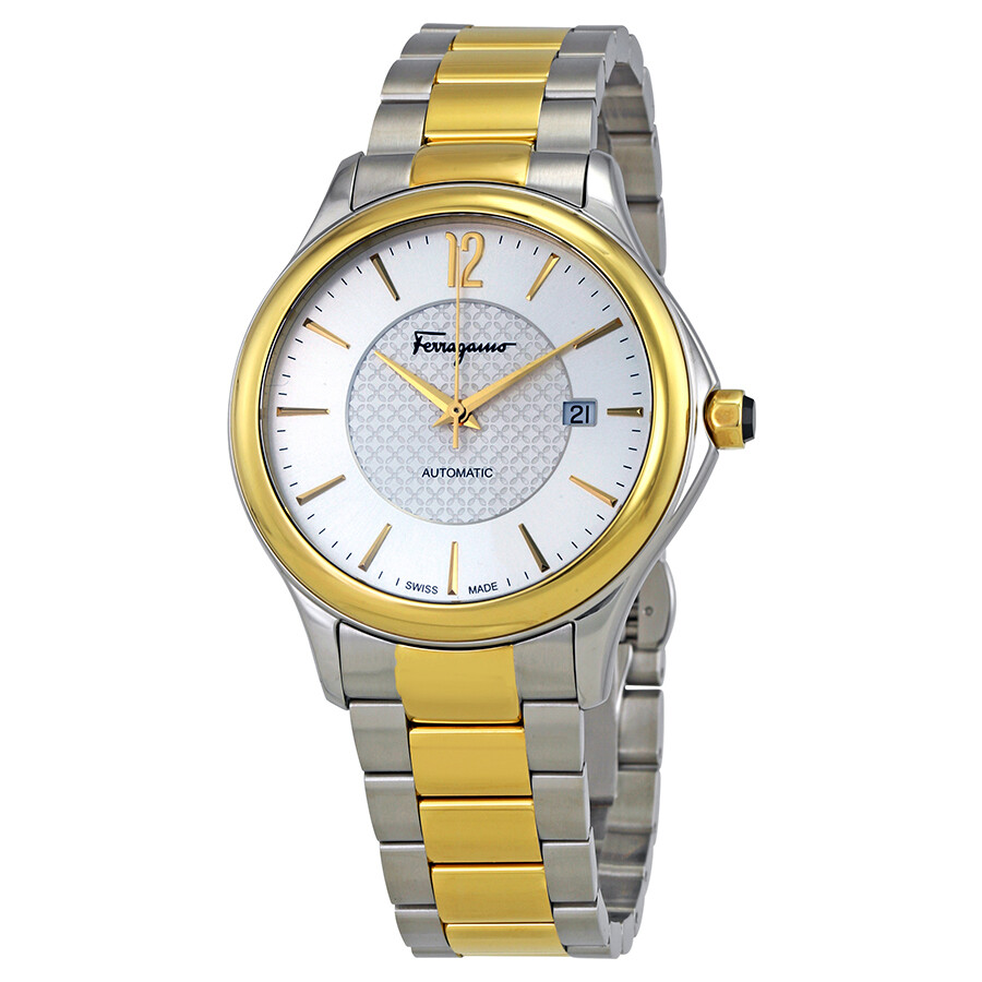 Ferragamo Time Automatic Silver Dial Mens Watch FFT040016