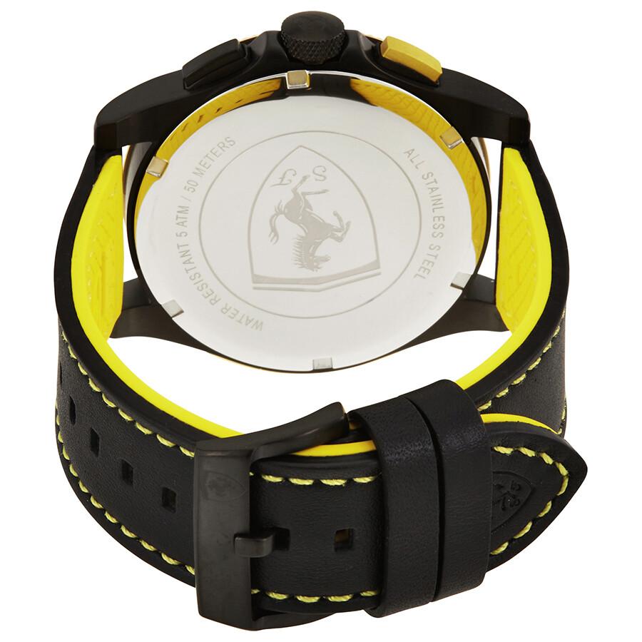 watches fla rev ferrari us red yellow men s pid watch