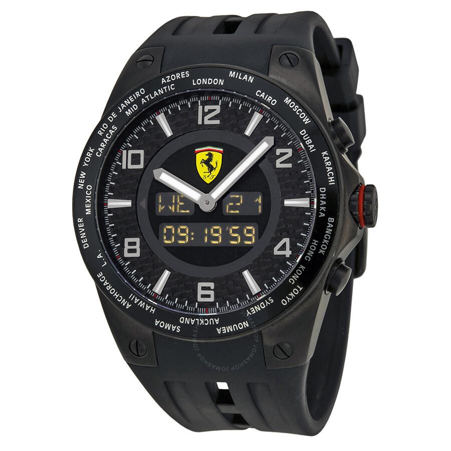 en scuderia schwarz black sale ferrari image product for children s kinderuhr watches pitlane watch