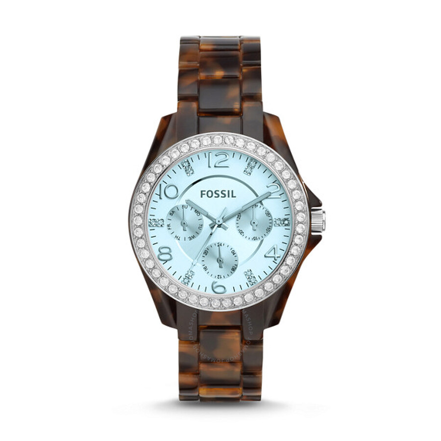 Fossil Modern Pursuit Chronograph White Silicone Watch Es 3981 ... - Source · Guess