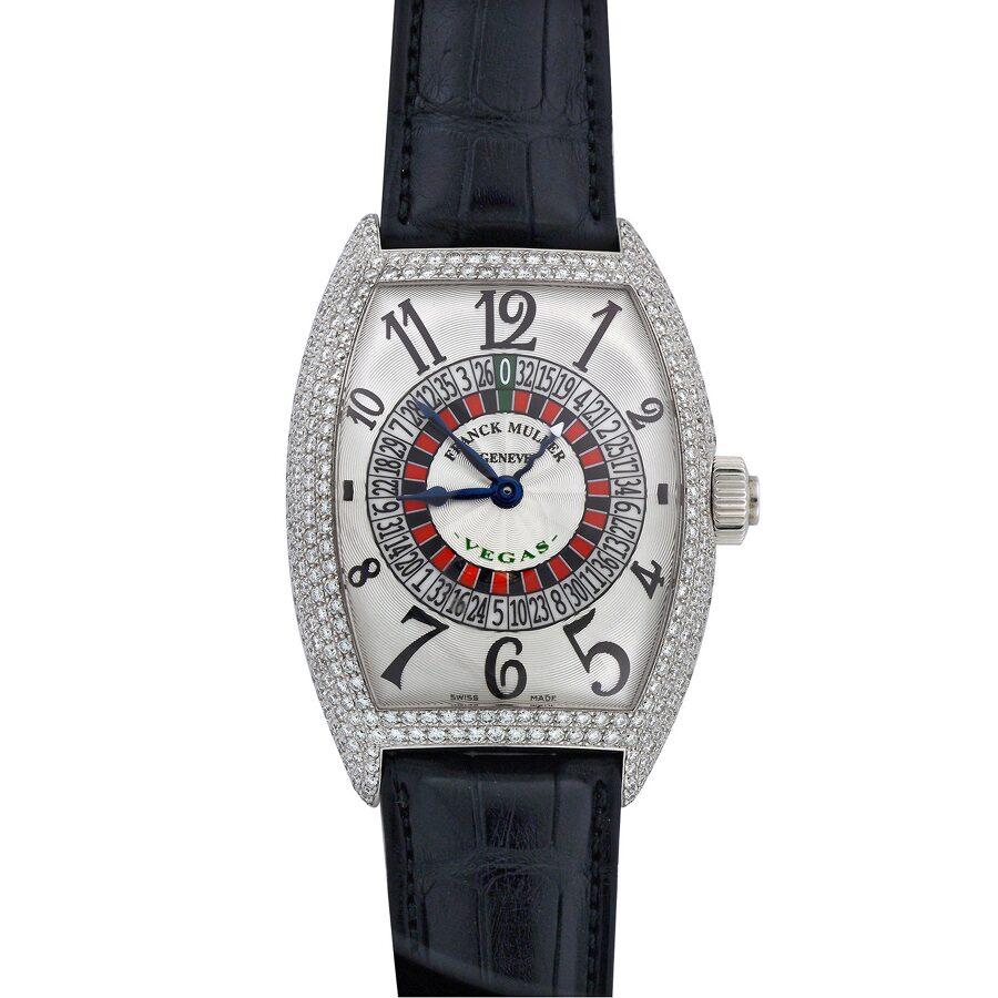 Franck Muller Casablanca Silver Dial Automatic Mens Luxury Watch 9880-Vegas-..