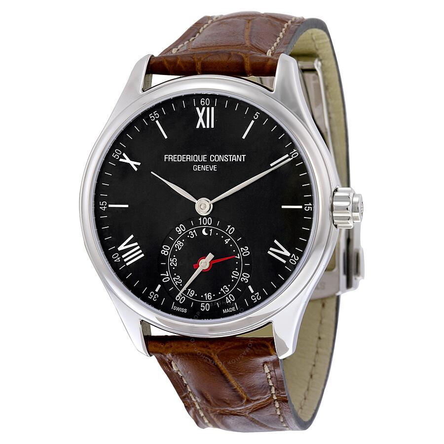 Frederique Constant Horological Smart Watch Black Dial Mens Watch FC-285B5B6
