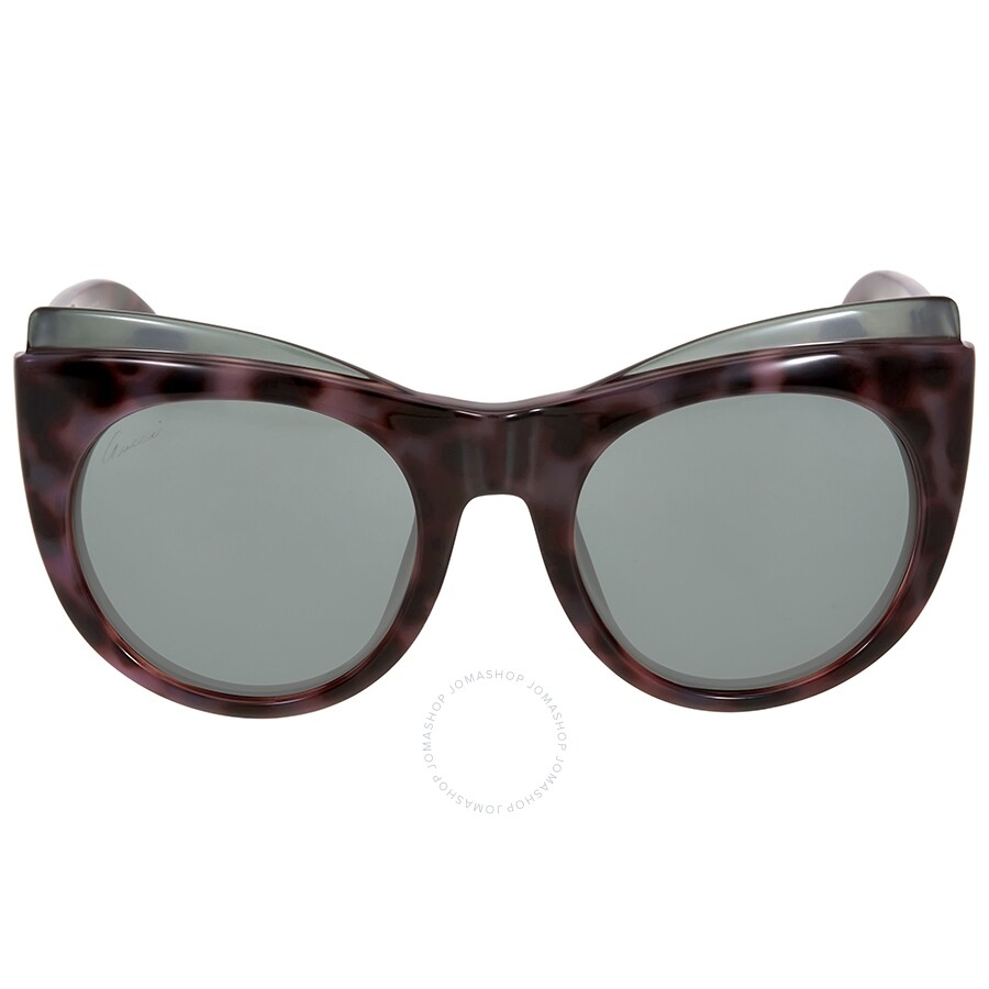 gucci gucci pink havana cat eye sunglasses
