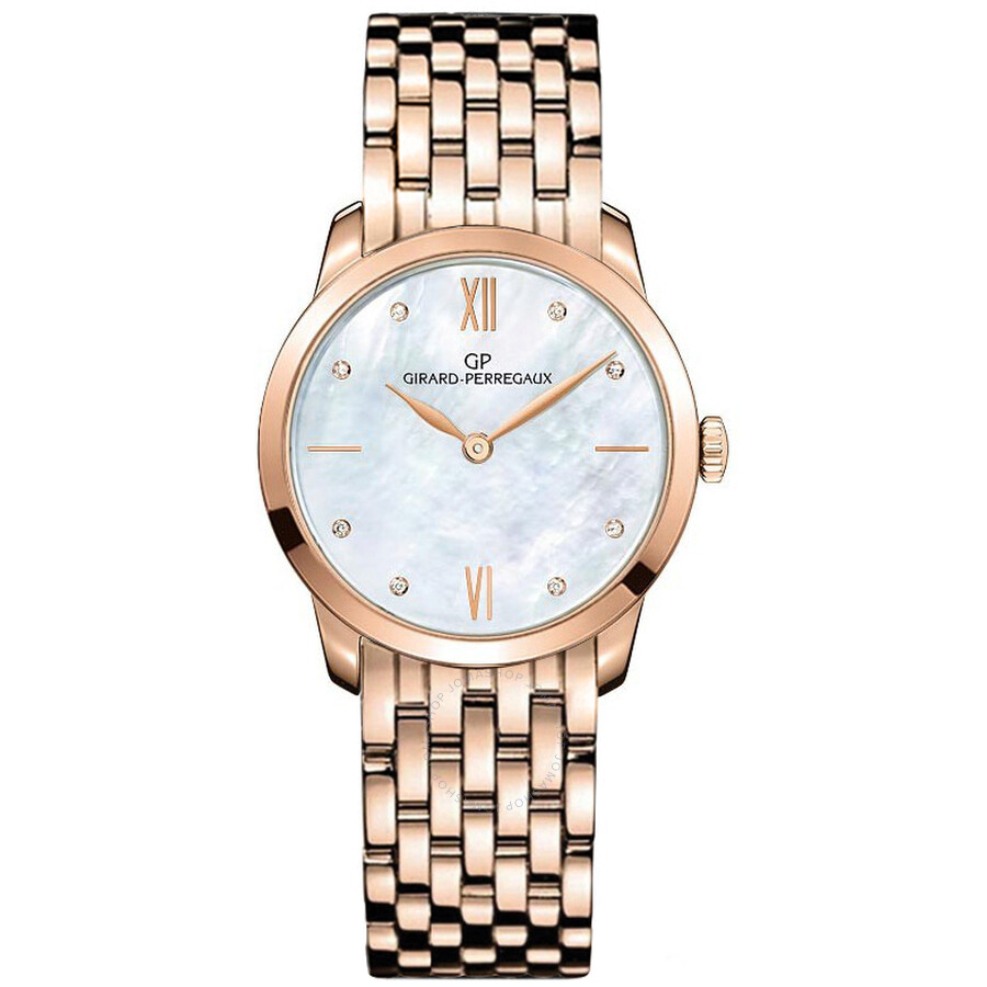 Girard Perregaux 1966 Automatic Ladies Watch 49528-52-771-52A
