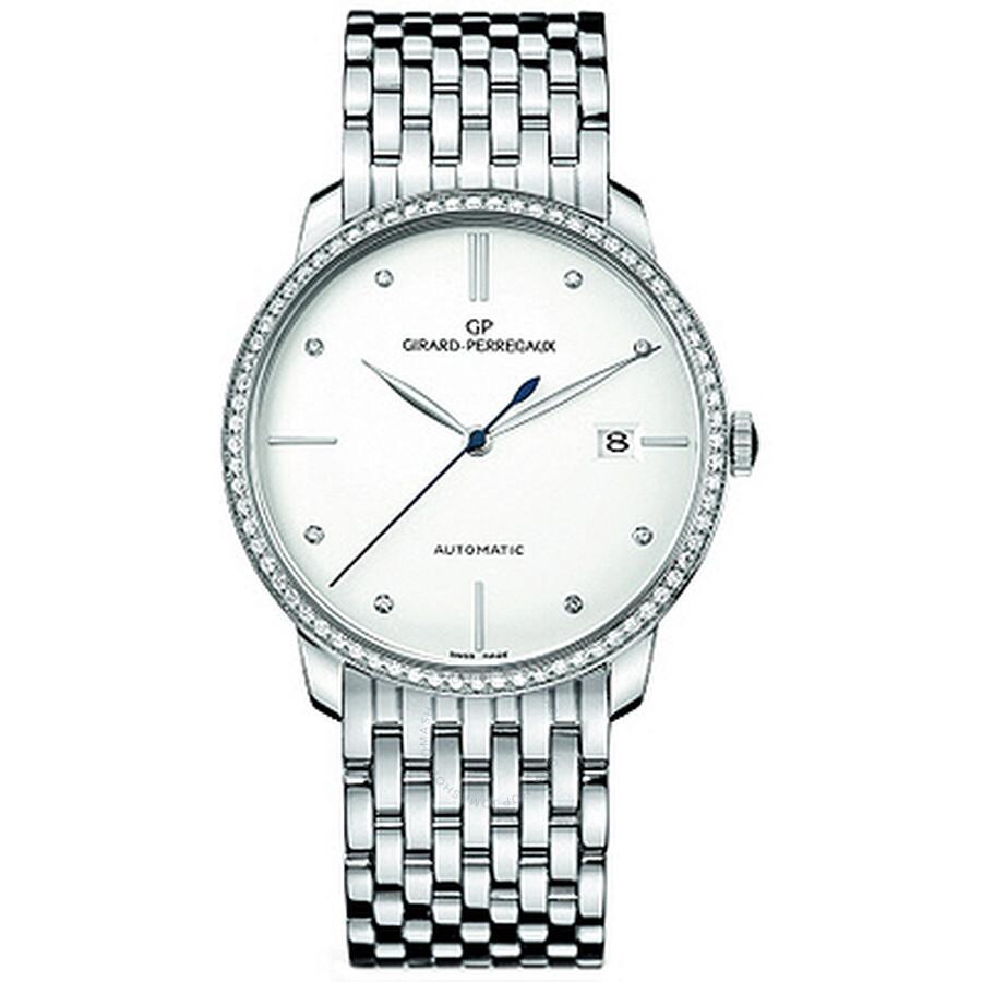 Girard Perregaux 1966 Automatic Mens Watch 49525D53A1A1-53A