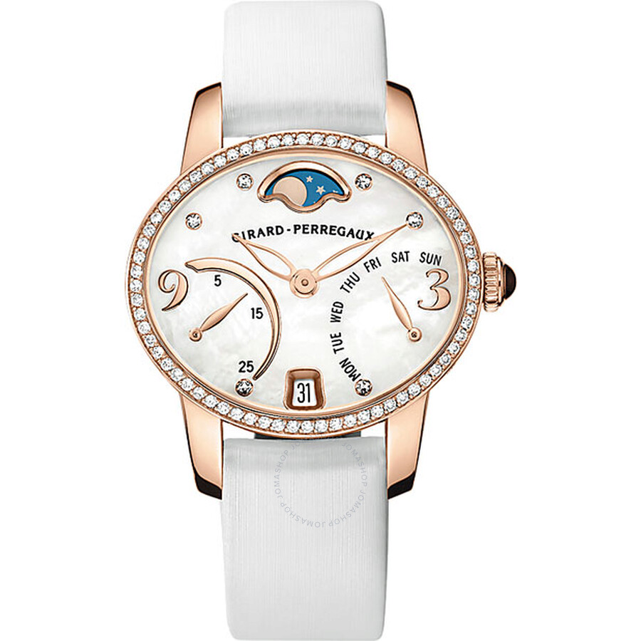 Girard Perregaux Cat's Eye Bi- Retro Automatic Ladies Watch 80485D52A761-KK7A