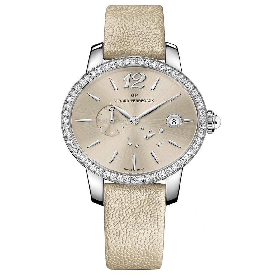 Girard Perregaux Cat's Eye Champange Dial Automatic Ladies Watch 80486D11A861-IK8A