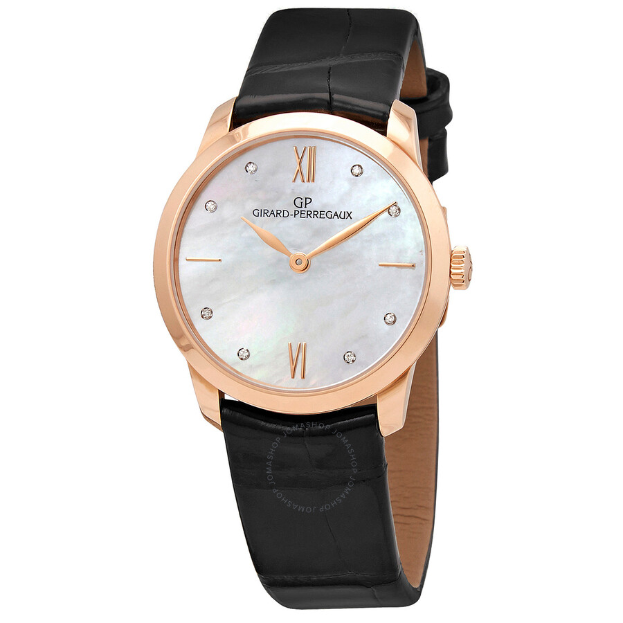 Girard Perregaux Classique Mother of Pearl Dial Ladies Watch 49528-52-771-CK6A