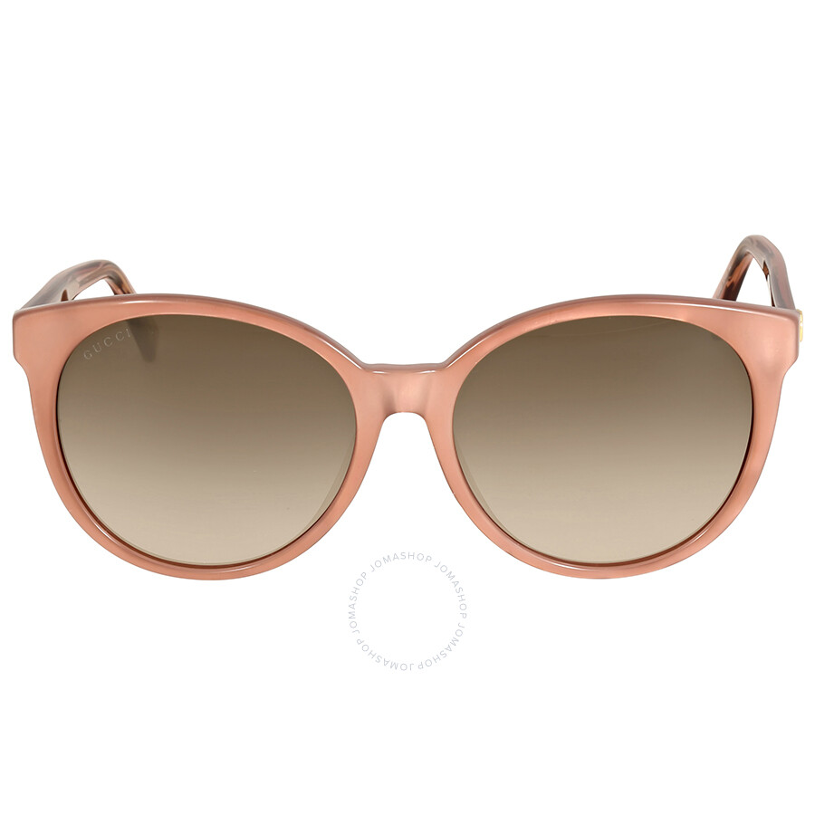 gucci gucci asian fit crystal rose sunglasses