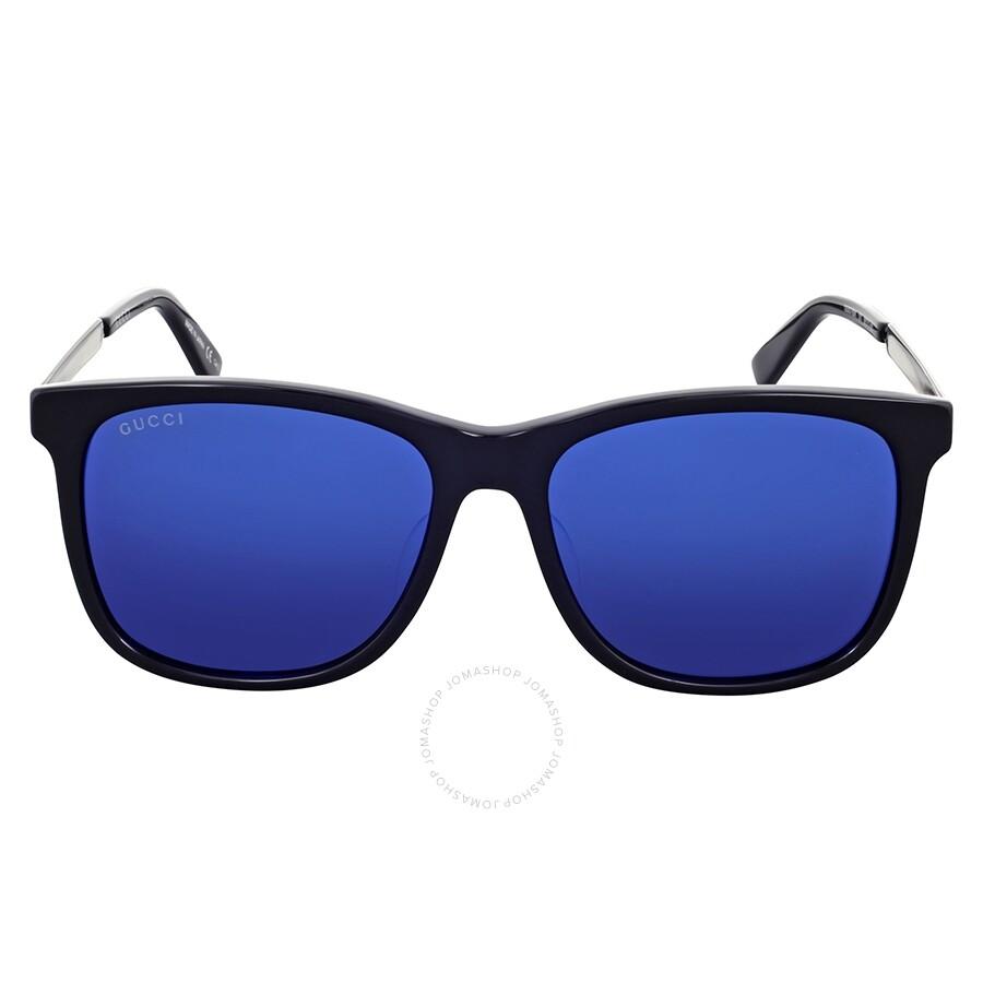 square aviators - Blue Gucci RQV4gT