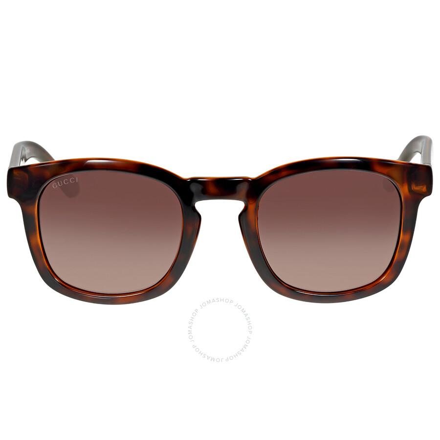 gucci gucci brown gradient havana sunglasses