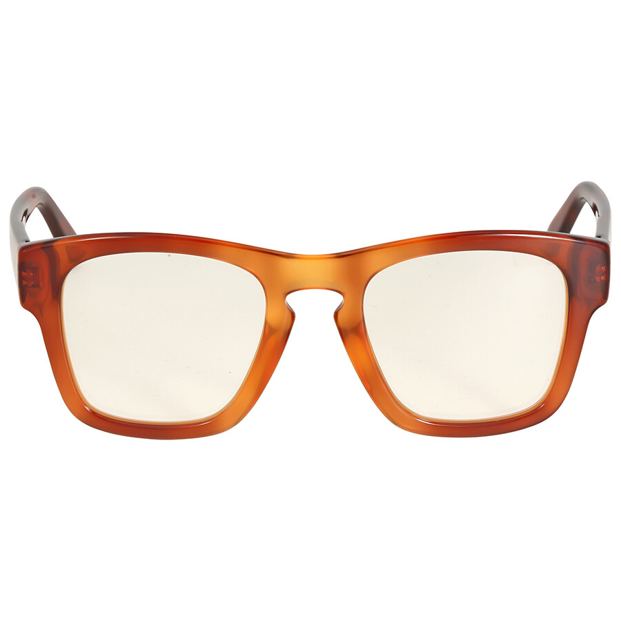 gucci gucci clear tortoise eyeglasses