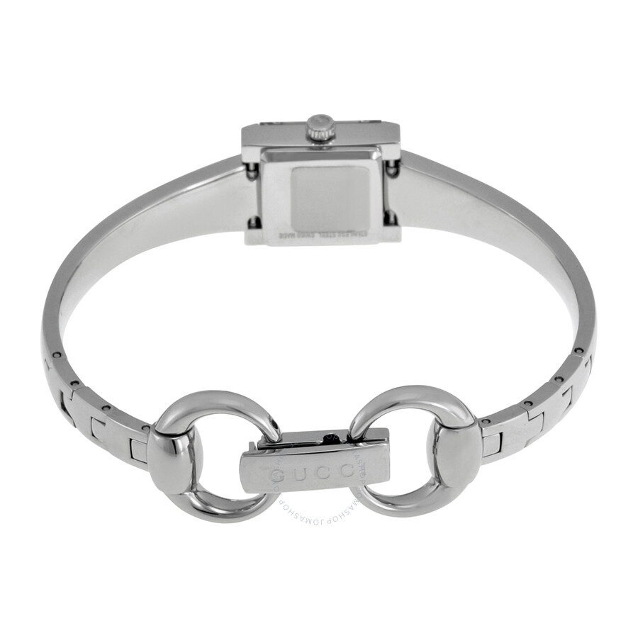 square logo wide bracelet heritage michael jewelry gallery product normal silver braceletsilvertone bangle bangles lyst kors