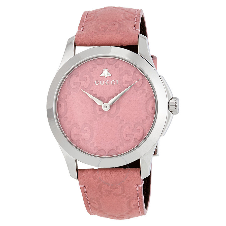 Gucci G-Timeless Candy Pink Dial Ladies Watch YA1264030 - G-Timeless ...