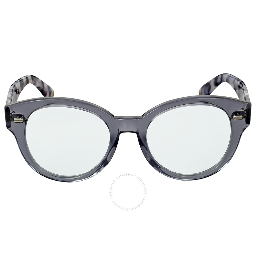 gucci gucci gray havana clear sunglasses