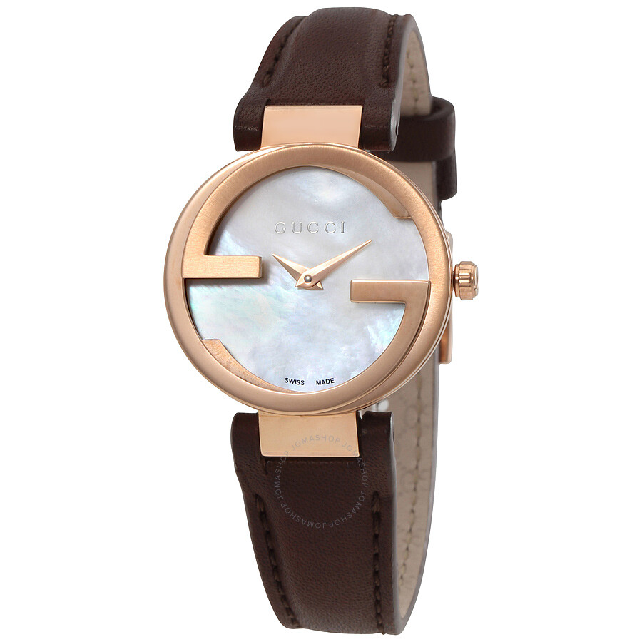gucci female gucci interlocking automatic ladies watch ya133516