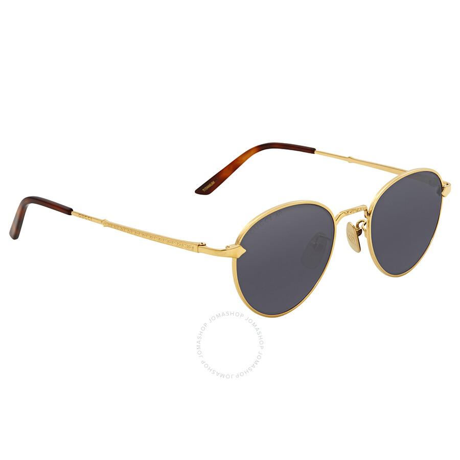 069256b1a46 Gucci Lavender Round Sunglasses GG0230S 003 49 ... Sc 1 St Jomashop
