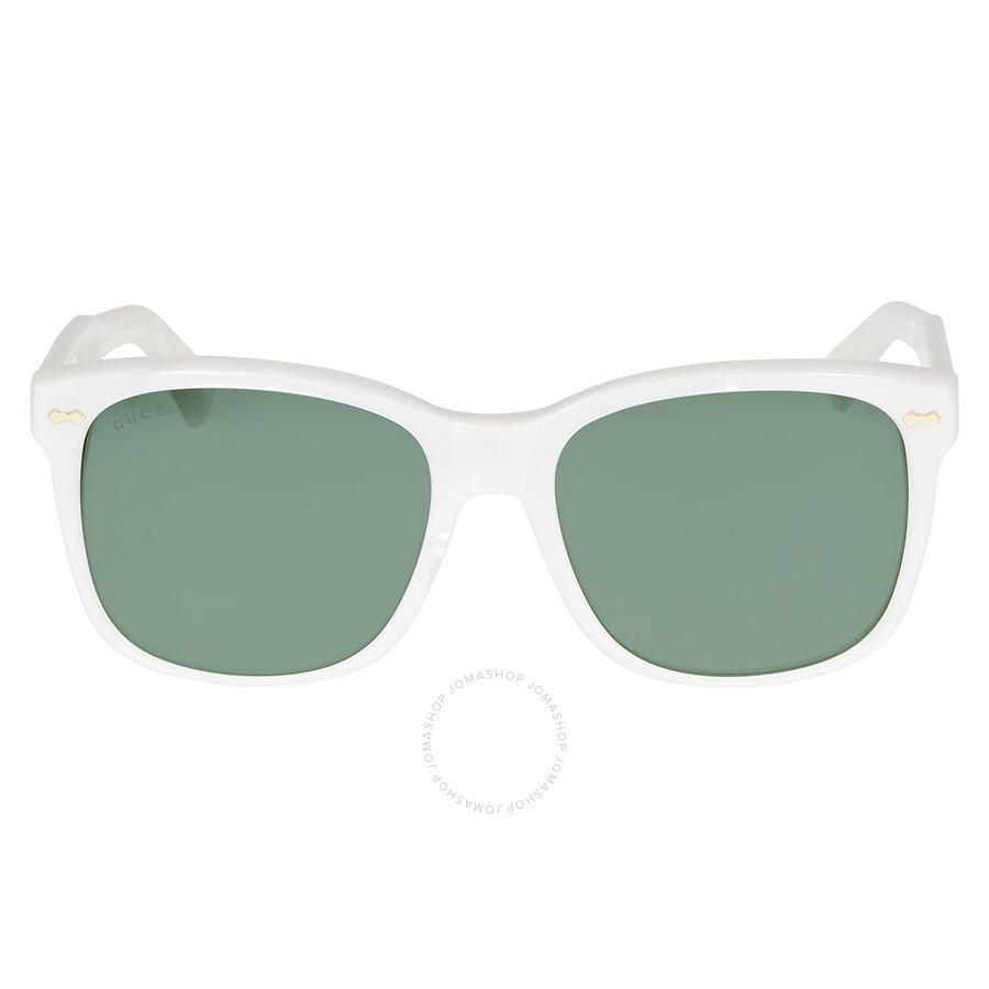 gucci gucci nacre grey green sunglasses