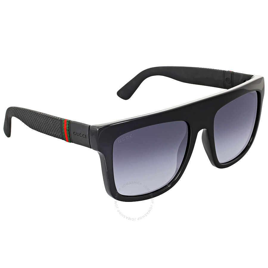 02bf83c5d3 Gucci Rectangle Dark Grey Gradient Men  s Sunglasses GG1116 SM1V90 .