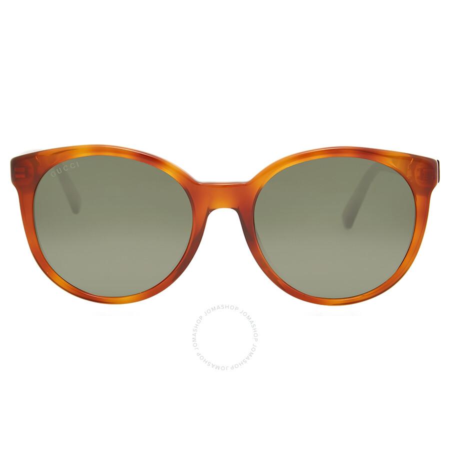 36b483940ad gucci gucci round brown havana sunglasses