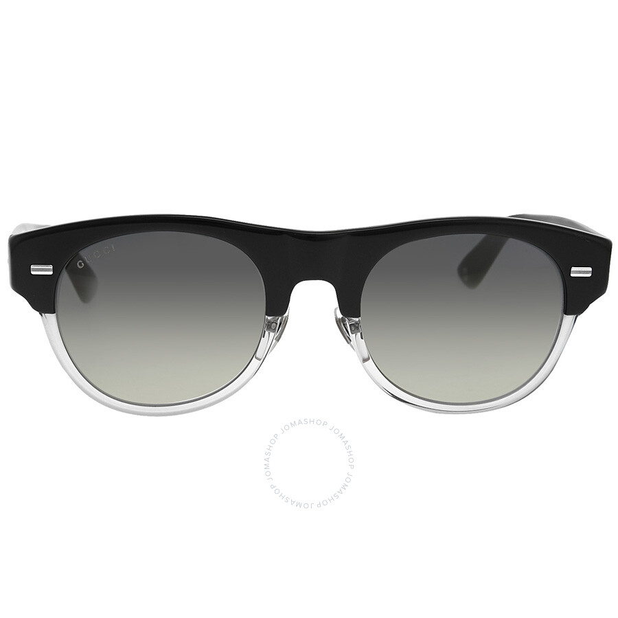 gucci gucci transparent grey sunglasses