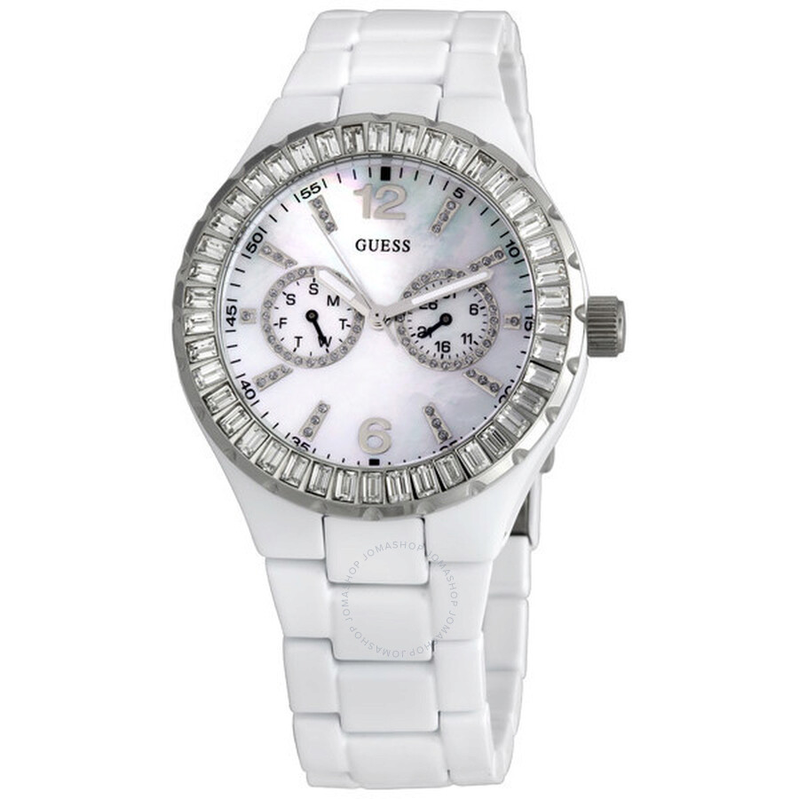 GUESS Ladies Stainless Steel Bracelet Watch G13552L1
